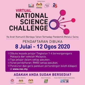 VIRTUAL NATIONAL SCIENCE CHALLENGE